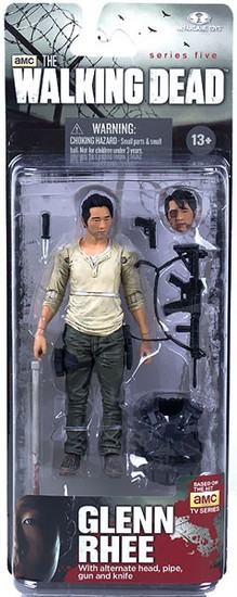 McFarlane Toys The Walking Dead AMC TV Series 5 Glenn Rhee Action Figure