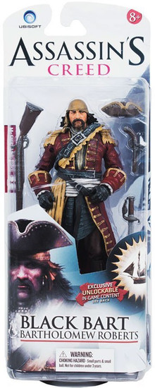 McFarlane Toys Assassin's Creed IV Black Flag Black Bart Exclusive Action Figure [Bartholomew Roberts]