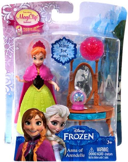 Disney Frozen MagiClip Anna of Arendelle 3.75-Inch Figure