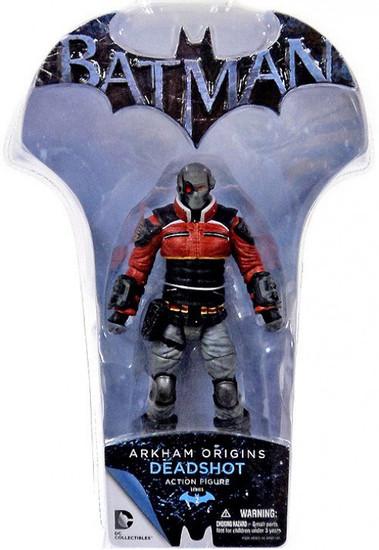 Batman Arkham Origins Series 2 Deadshot Action Figure