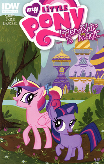 My Little Pony Friendship is Magic #11 Comic Book [Cover B]