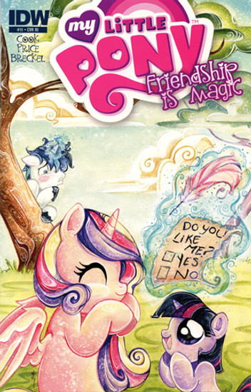 My Little Pony Friendship is Magic #11 Comic Book [Retailer Incentive]