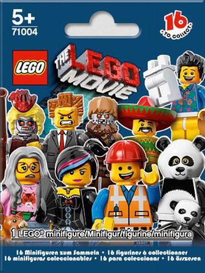 LEGO Minifigures The LEGO Movie Mystery Pack [1 RANDOM Figure]