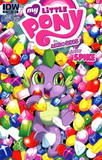 My Little Pony Micro-Series #9 Featuring Spike Comic Book [Cover A]