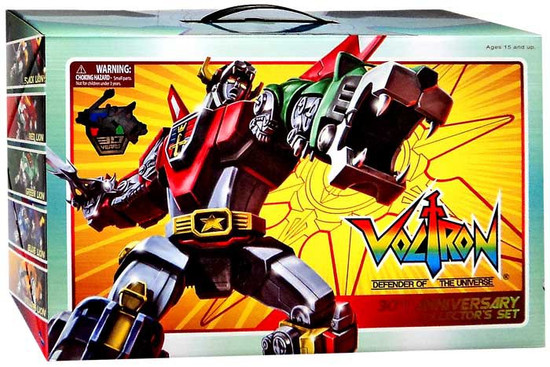 Voltron Defender of the Universe Lion Force 30th Anniversary Collector's Set
