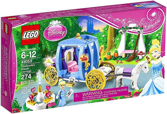 LEGO Disney Princess Cinderella's Dream Carriage Set #41053