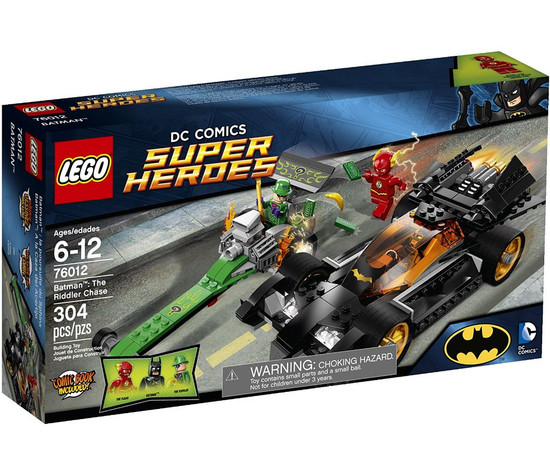 LEGO DC Universe Super Heroes Batman: The Riddler Chase Set #76012