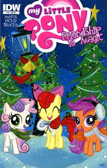 My Little Pony Friendship is Magic #14 Comic Book [Retailer Incentive]