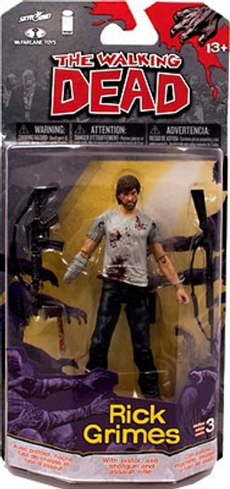 McFarlane Toys The Walking Dead Comic Series 3 Rick Grimes Action Figure