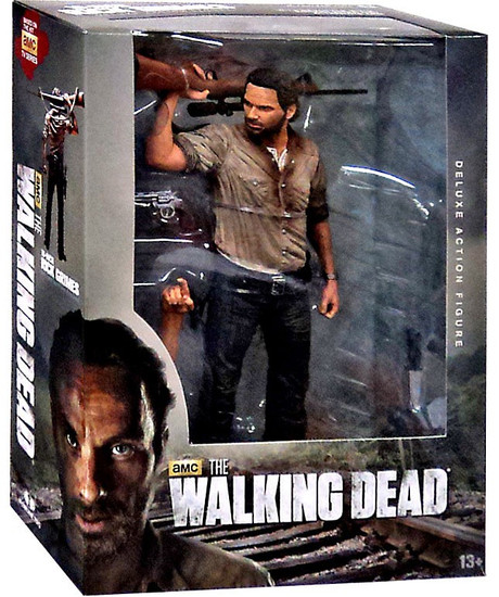 McFarlane Toys The Walking Dead AMC TV Rick Grimes Deluxe Action Figure