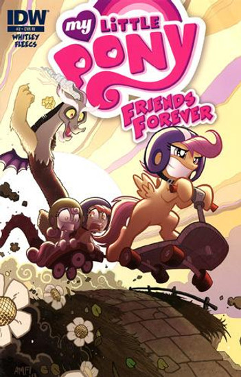 My Little Pony #2 Comic Book [Retailer Incentive]