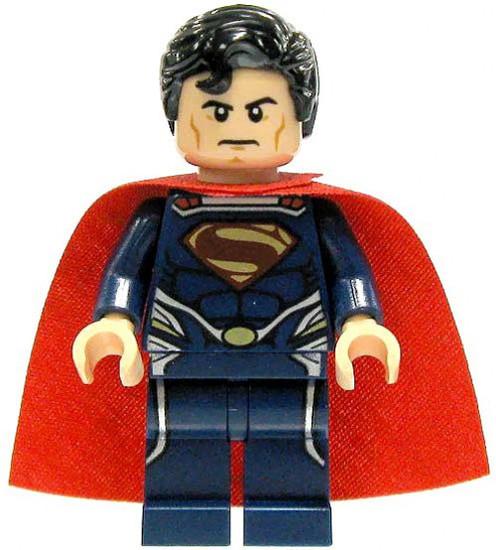 LEGO DC Universe Super Heroes Superman Minifigure [Dark Blue Loose]