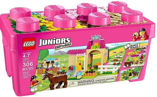 LEGO Juniors Pony Farm Set #10674