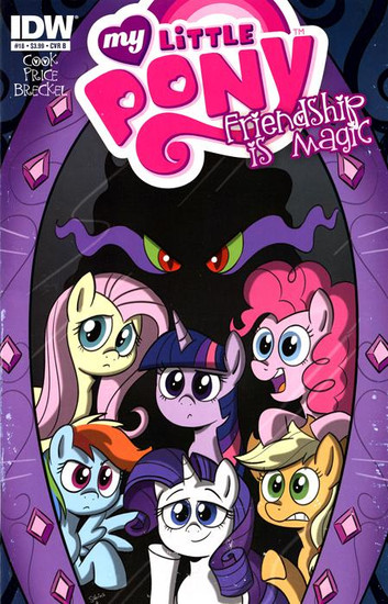 My Little Pony Friendship is Magic #18 Comic Book [Cover B]