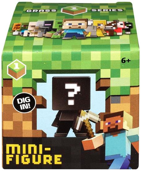Minecraft Grass Series 1 Mystery Pack [1 RANDOM Figure]