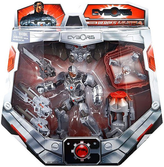 DC Total Heroes Ultra Cyborg Exclusive Action Figure
