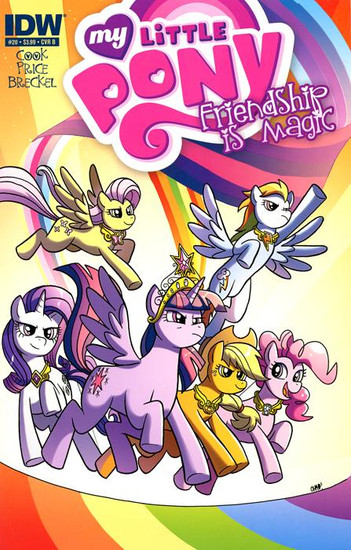 My Little Pony Friendship is Magic #20 Comic Book [Cover B]