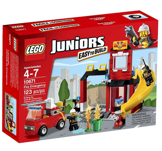 LEGO Juniors Fire Emergency Set #10671