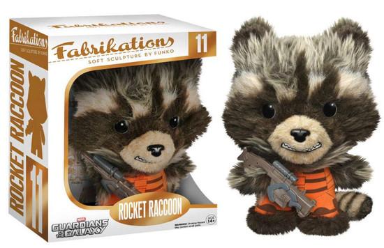 Marvel Guardians of the Galaxy Funko Fabrikations Rocket Raccoon Plush #11
