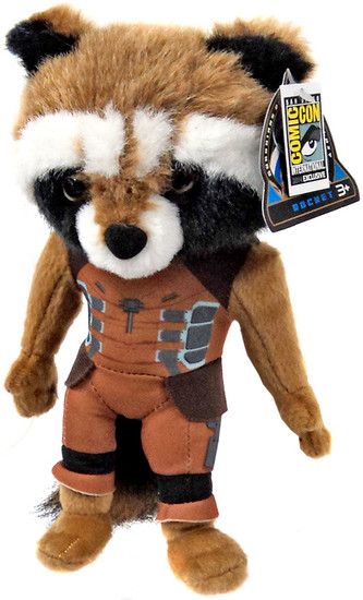 Marvel Guardians of the Galaxy Rocket Raccoon Exclusive Plush Figure