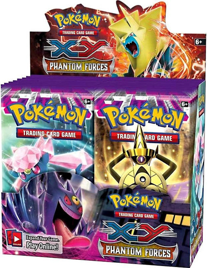 Pokemon Trading Card Game XY Phantom Forces Booster Box [36 Packs]