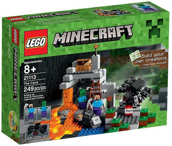 LEGO Minecraft The Cave Set #21113