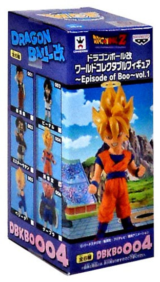 Dragon Ball Z World Series Super Saiyan Goku 2.8-Inch Collectible Mini PVC Figure