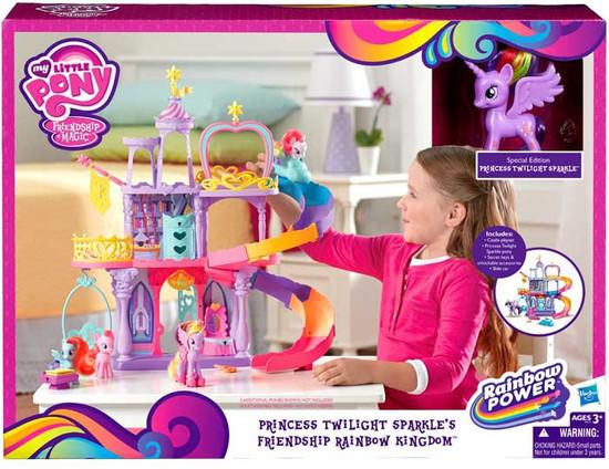 My Little Pony Friendship is Magic Princess Twilight Sparkle's Friendship Rainbow Kingdom Playset