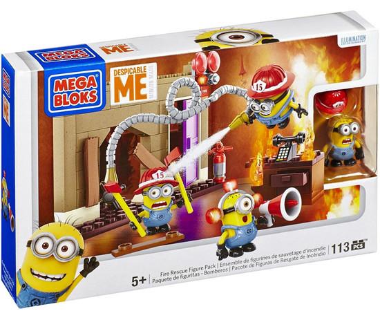 Mega Bloks Despicable Me Minion Made Fire Rescue Set #94816