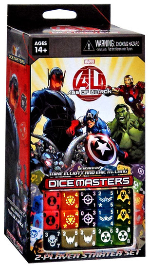 Marvel Dice Masters Age of Ultron Starter Deck