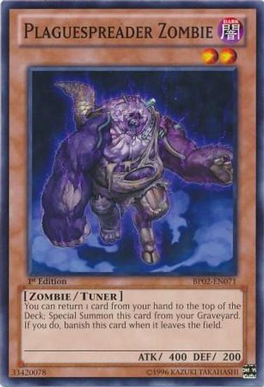 YuGiOh Battle Pack 2: War of the Giants Mosaic Plaguespreader Zombie BP02-EN071