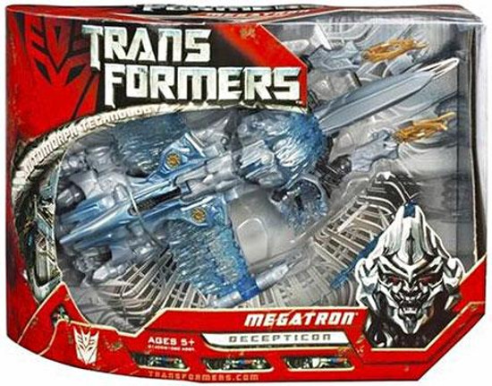 Transformers Movie Megatron Voyager Action Figure [Damaged Package]