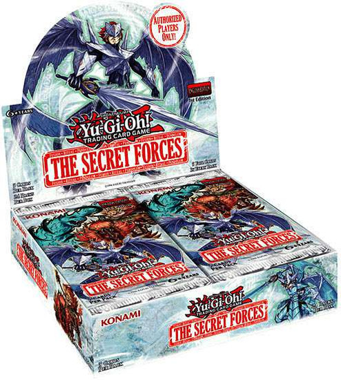 YuGiOh Trading Card Game The Secret Forces Booster Box [24 Packs]