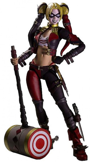 DC Injustice: Gods Among Us S.H. Figuarts Harley Quinn Action Figure [with Hammer]