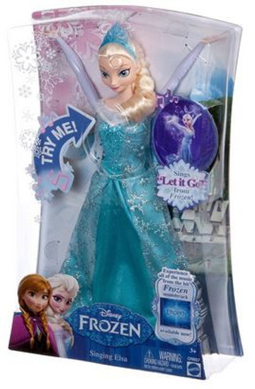 Disney Frozen Singing Elsa 12-Inch Doll