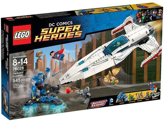 LEGO DC Super Heroes Darkseid Invasion Set #76028