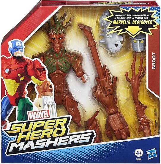 Marvel Super Hero Mashers Battle Upgrade Groot Action Figure