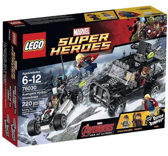 LEGO Marvel Super Heroes Avengers Age of Ultron Avengers Hydra Showdown Set #76030