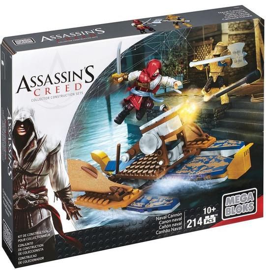 Mega Bloks Assassin's Creed Naval Cannon Set #38080