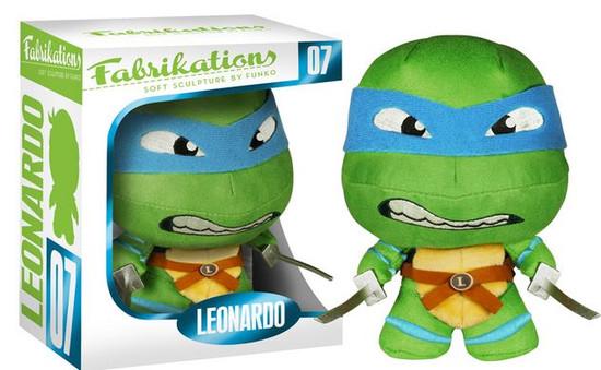Teenage Mutant Ninja Turtles Funko Fabrikations Leonardo 6-Inch Plush #07