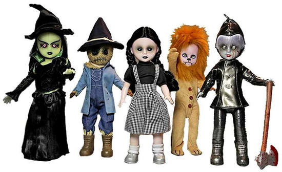 Living Dead Dolls Lost In Oz Set of 5 Dolls