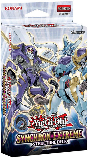 YuGiOh Trading Card Game Synchron Extreme Structure Deck