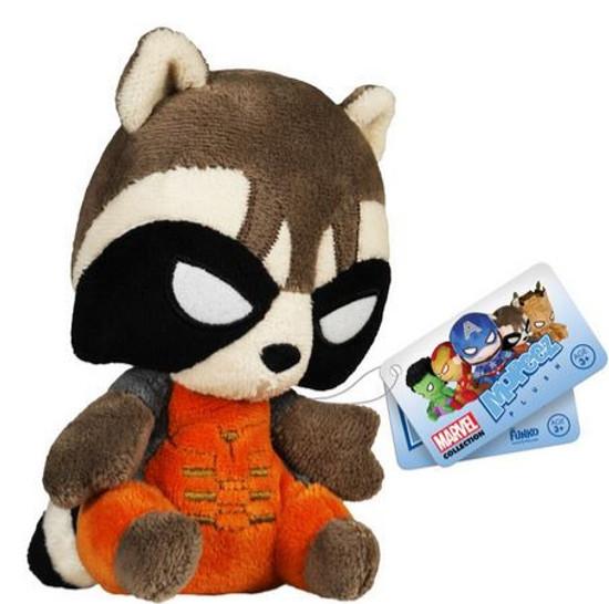 Funko Marvel Guardians of the Galaxy Mopeez Rocket Raccoon Plush