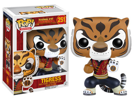 Funko Kung Fu Panda POP! Movies Tigress Vinyl Figure #251