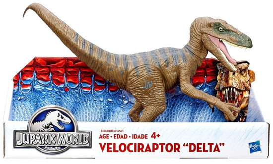 Jurassic World Velociraptor Delta Action Figure