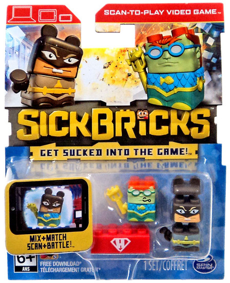 Sick Bricks Exclusive Minifigure 5-Pack