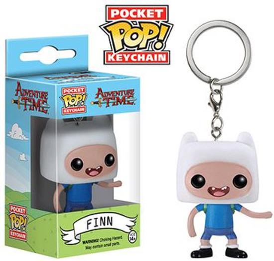 Funko Adventure Time Pocket POP! TV Finn Keychain