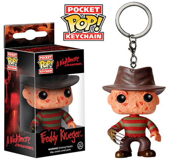 Funko Nightmare on Elm Street Pocket POP! Movies Freddy Krueger Keychain