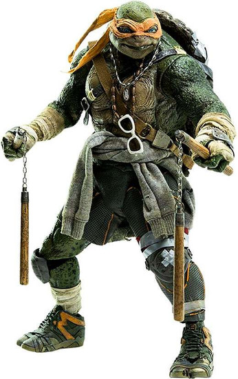 Teenage Mutant Ninja Turtles 2014 Movie Michelangelo Collectible Figure
