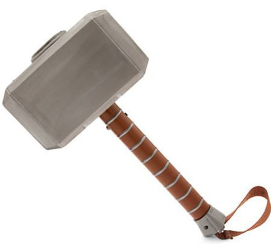 Marvel Avengers Initiative Thor Ultimate Mjolnir Hammer 14-Inch Roleplay Toy